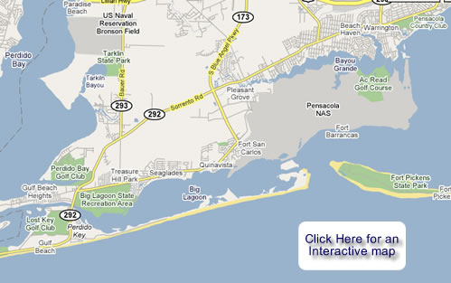 Perdido Key Map   Dei Brown is your real estate agent for Perdido